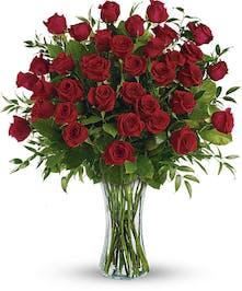 Beautiful Hand Picked Ecuadorian Red Roses