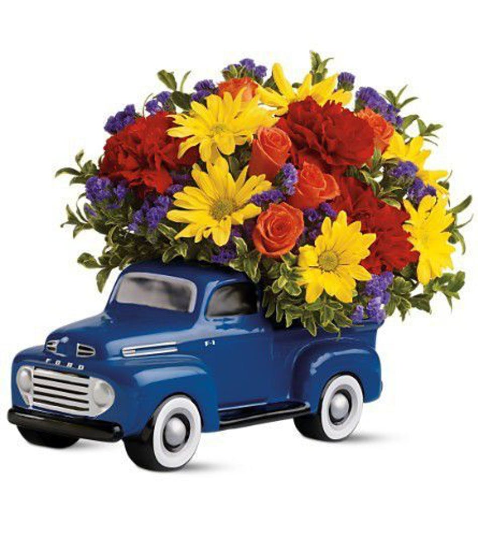 Quot48 Ford Pickup Bouquetquot Albany Florists Flowers Albany