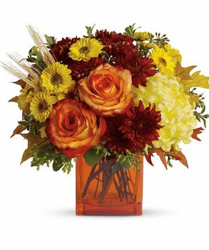 A Chic Fall Bouquet