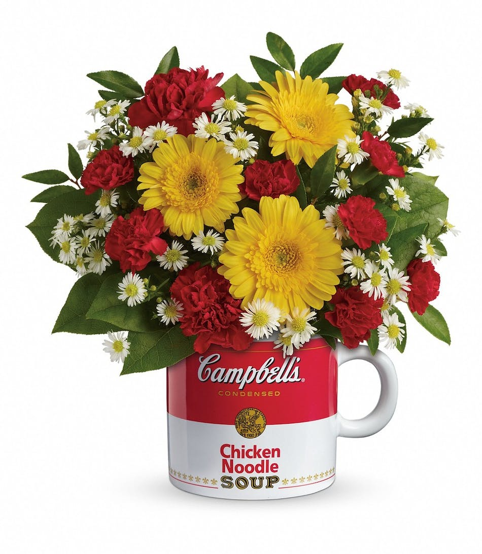 Campbells Healthy Wishes Albany Florists Flowers Albany Ny Danker