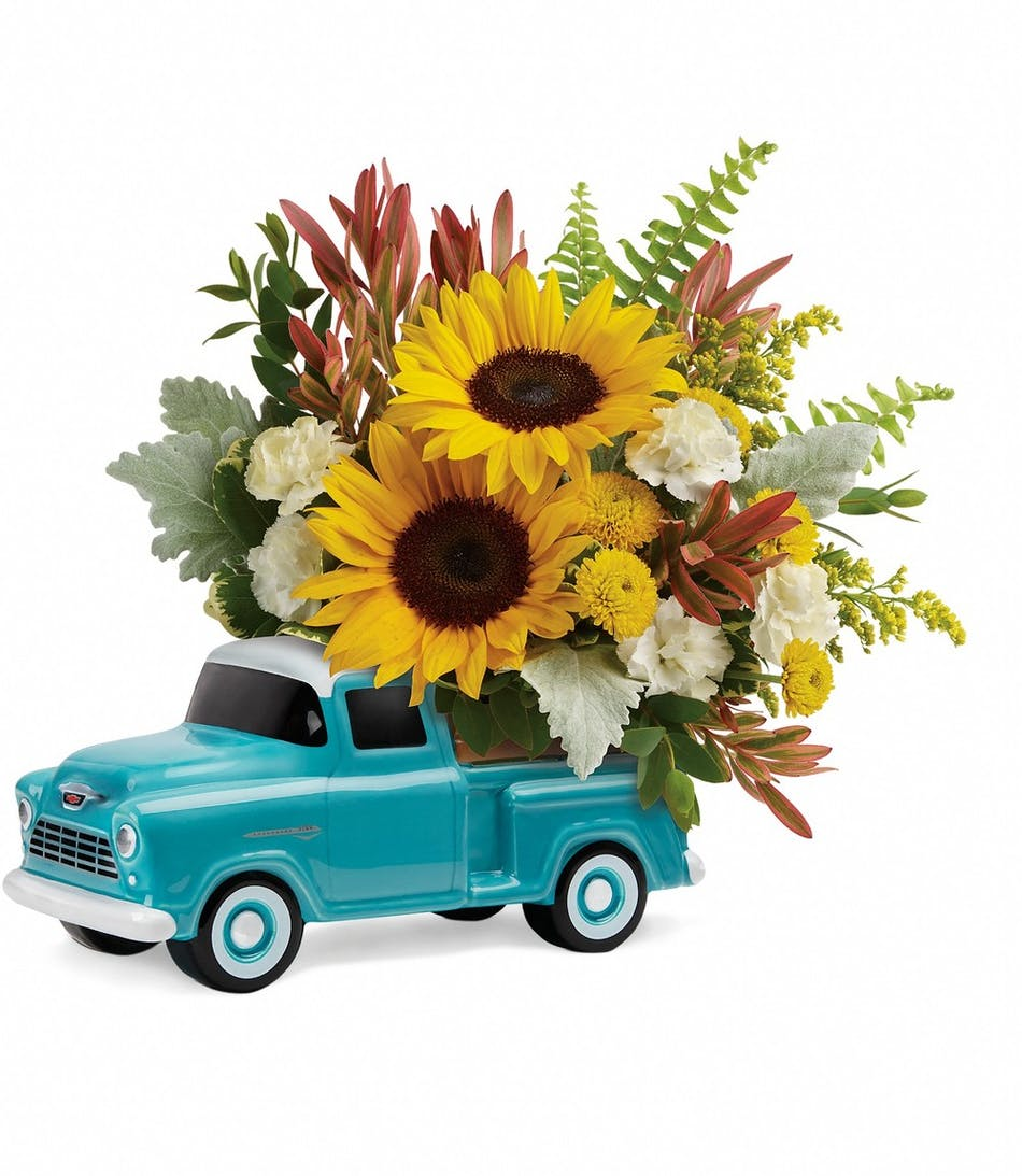 Chevy Pickup Truck Albany Florists Flowers Albany Ny Danker Florist