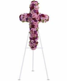 Standing Deepest Faith Cross