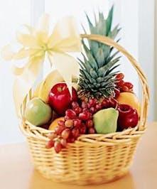 Seasonal Fruits in a Basket