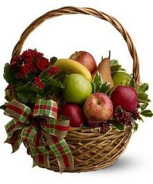 Generous Holiday Fruit Basket