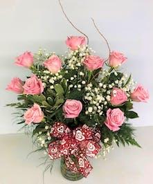 Beautiful Hand Picked Ecuadorian Pink Roses