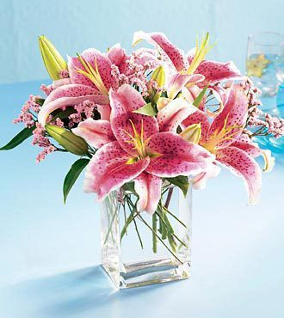 Pink Lily Bouguet