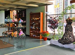 In addition to flowers and plants, Danker offers a range of gifts and decorations